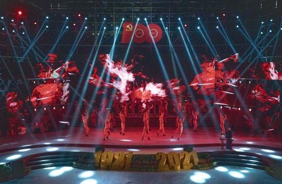 奋斗百年路 启航新征程 巴南区举办庆祝七一文艺演出