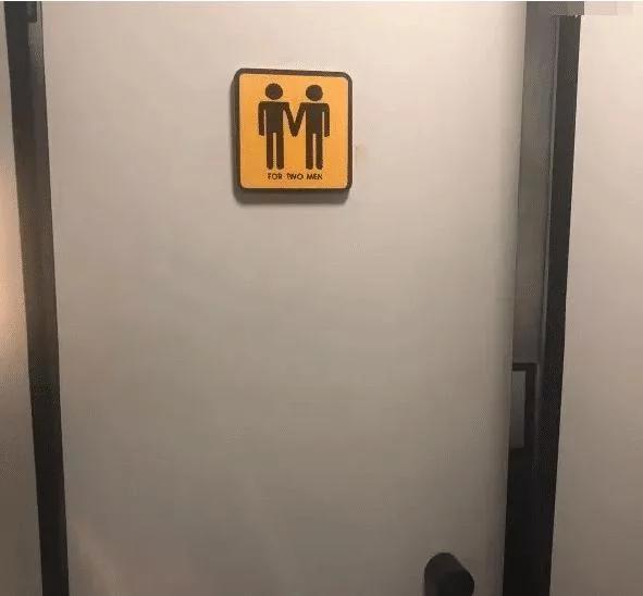 同志?厕所,内涵厕所标志